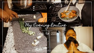 Goals for 2020 | My Paid Time Off Evening Routine
