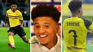 Jadon Sancho's brilliant 2018-19 season at Borussia Dortmund | Goals, skills, assists