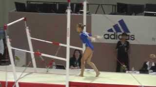 Daria Spiridonova (RUS) - Bars - 2015 European Championships (Quals)