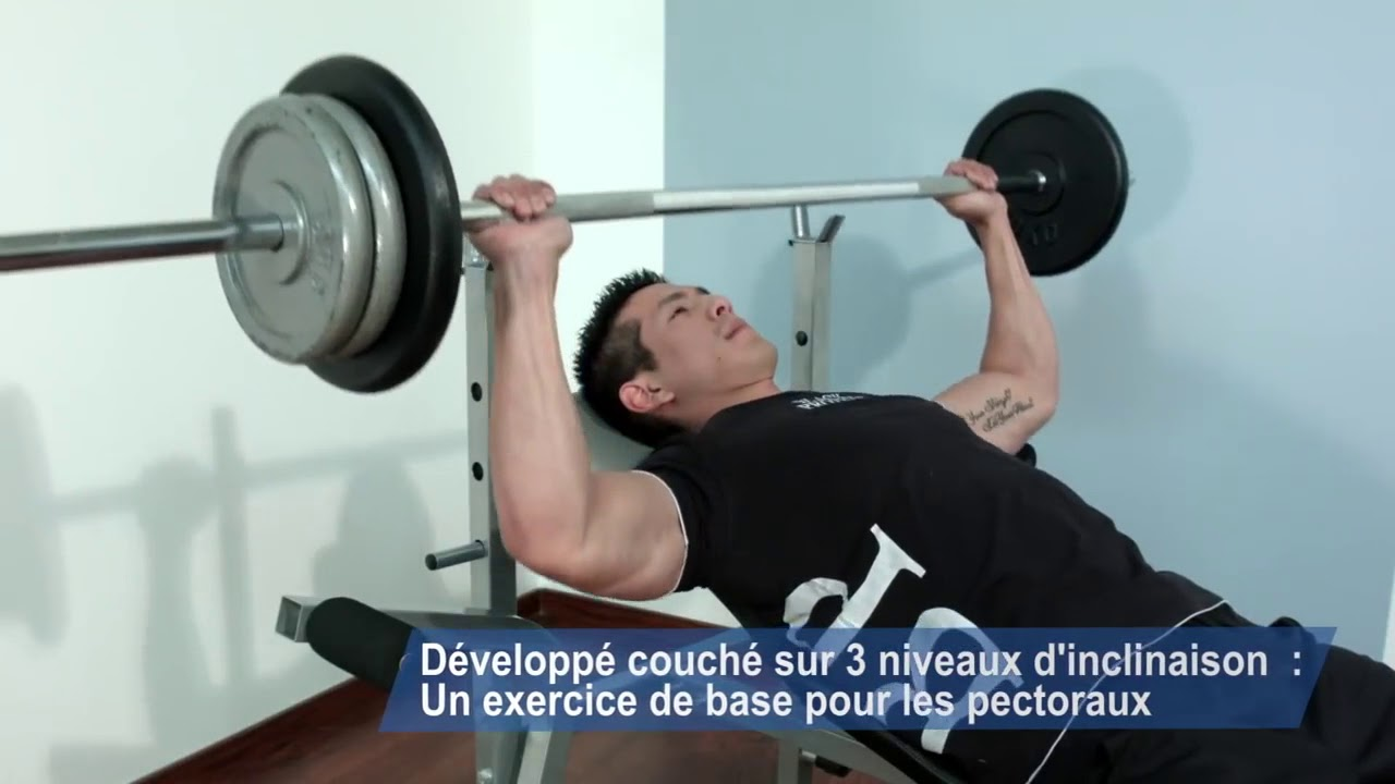 banc de musculation pump x