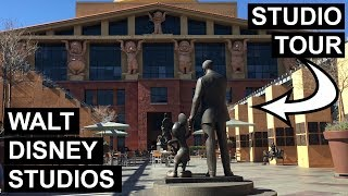 INSIDE Walt Disney Studios in Burbank CA - TOUR