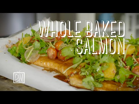 Ben's Whole Baked Salmon