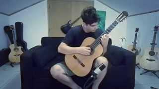 Video Resident Evil 4 Save Room Theme on Acoustic Guitar by GuitarGamer (Fabio Lima) download MP3, 3GP, MP4, WEBM, AVI, FLV Maret 2017