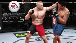 Brock Lesnar vs Frank Mir - EA Sports UFC Xbox One Gameplay