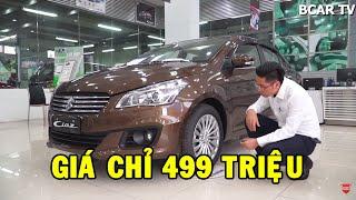 ✅ Suzuki Ciaz giá 499 triệu có gì để khiến Toyota Vios và Honda City dè chừng