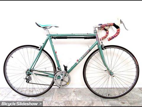 Raleigh Grand Prix Vintage Racing Bike / Bicycle (Slideshow)