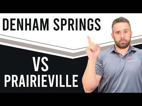 Cost Of Living In Denham Springs, Louisiana Vs  Prairieville, Louisiana