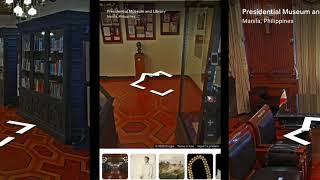 Philippine Presidential Museum and Library | Virtual Tour | Homeschooling Materials | BABAM