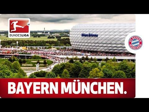 Spectacular Hyperlapse of Record Champions Bayern München's Stadium
