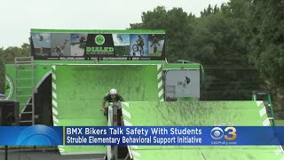 Dialed Action Sports BMX Stunt Team Makes A Stop In Bensalem