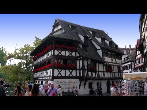 Strasbourg, Alsace (Straßburg, das Elsass), France [HD] (videoturysta)