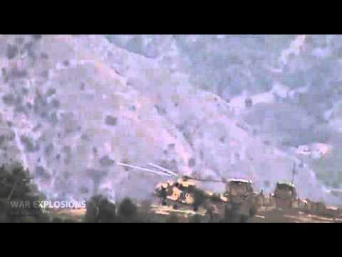 Military helicopter Mi 8 Lands onTaliban mine