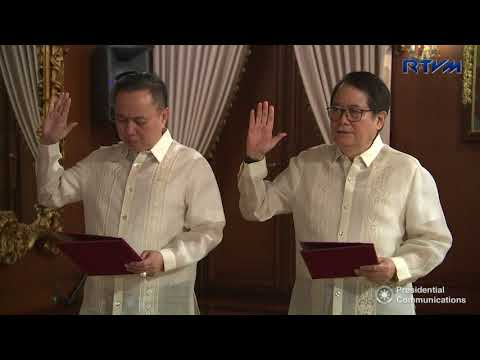 Oath-Taking of Philippine Olympic Committee (POC) Officials   3/5/2018