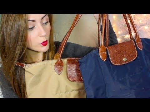3c90d94d4063 SarahSpills  Longchamp Le Pliage Totes - YouTube