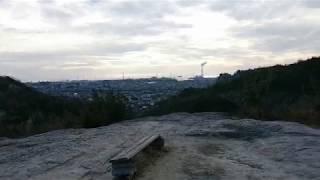 兵庫県高砂市阿弥陀町生石の生石神社の石の宝殿の裏山にある大正天皇御...