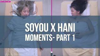 SOYOU(소유) X HANI(하니) MOMENTS - 1 [ENG]