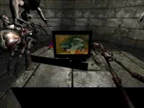 Paul's Gaming - Doom 3 MAP - Happy New Year |