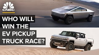 Tesla, GM, Rivian And The Electric Pickup Truck Race
