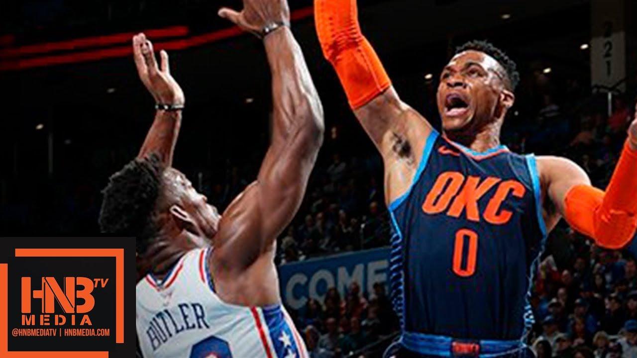 Download Oklahoma City Thunder vs Philadelphia Sixers Full Game Highlights | Feb 28, 2018-19 NBA Season