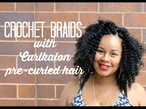 Crochet Hair Install : Crochet Braids Install with Latched & Hooked - YouTube
