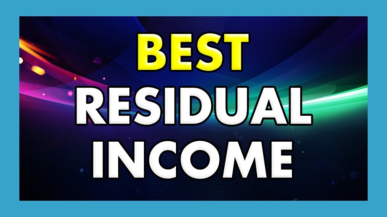 best residual income opportunities work from home 2014 youtube