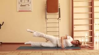 Лечебная физкультура при грыже поясничного отдела позвоночника.(, 2015-09-06T07:27:31.000Z)