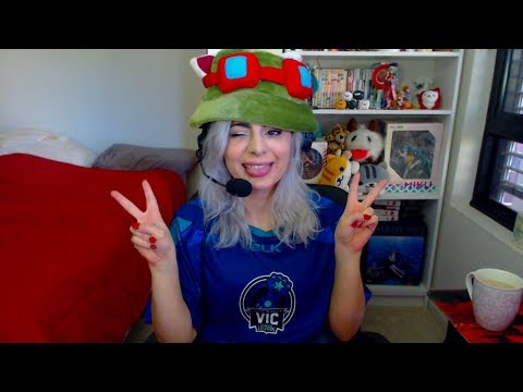 Captain Teemo, on duty! ^_^ Playing with new runes ⚫ League of Legends ⚫ LIVE come say hi!