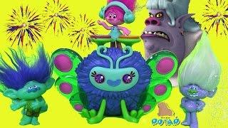 Тролли Мультик Trolls Детский Канал Poppy's Wooferbug Beats Розочка. Цветан. Бергены. #Тролли