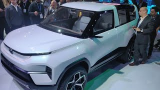 Tata Motors At The Auto Expo | Tata Sierra Electric, HBX Concept, 2020 Harrier, Gravitas | Auto Expo