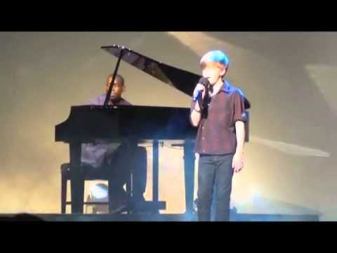 "Ronan Parke live on the 2011 BGT tour ""Because of you"" & ""Make You Feel my Love"""