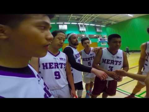 University of Hertfordshire Nepalese society vs Filipino society friendly basketball match