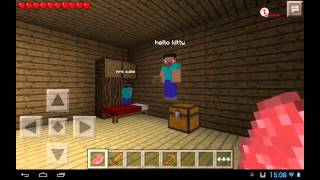 minecraft pocket edition gameplay on android multiplayer survival e02