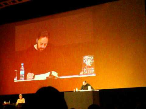 "David Nathan liest Auszug aus ""DOCTOR SLEEP"" in Hamburg 20.11.2013 Live"