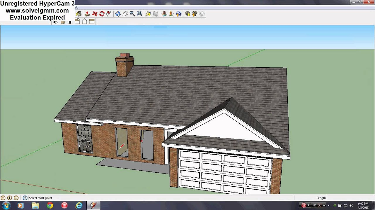 Image gallery sketchup creations for Sketchup building