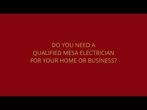 Mesa Electrician 480-545-9600