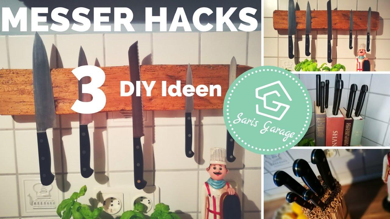 messerblock selber machen diy messer hacks magnetische. Black Bedroom Furniture Sets. Home Design Ideas