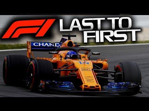 F1 2018 LAST TO FIRST - GP d'Espagne