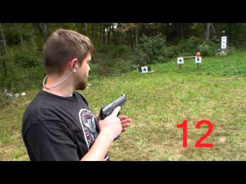 Outdoor review: Taurus PT 92 AF 9mm+explosion