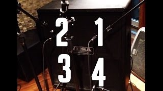 Speaker Comparison Mesa Boogie 4x12 Cab Metal