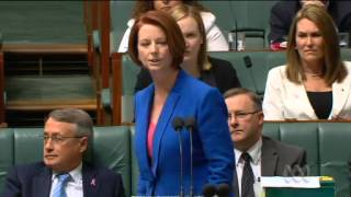 Julia Gillard Smashes Tony Abbott for Sexism and Misogyny