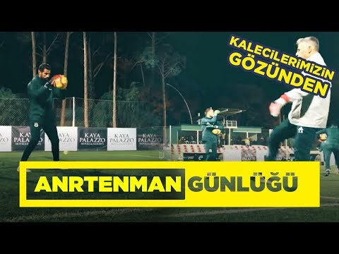 Fenerbahçe Kaleci Antrenmanı | Antalya Kampı