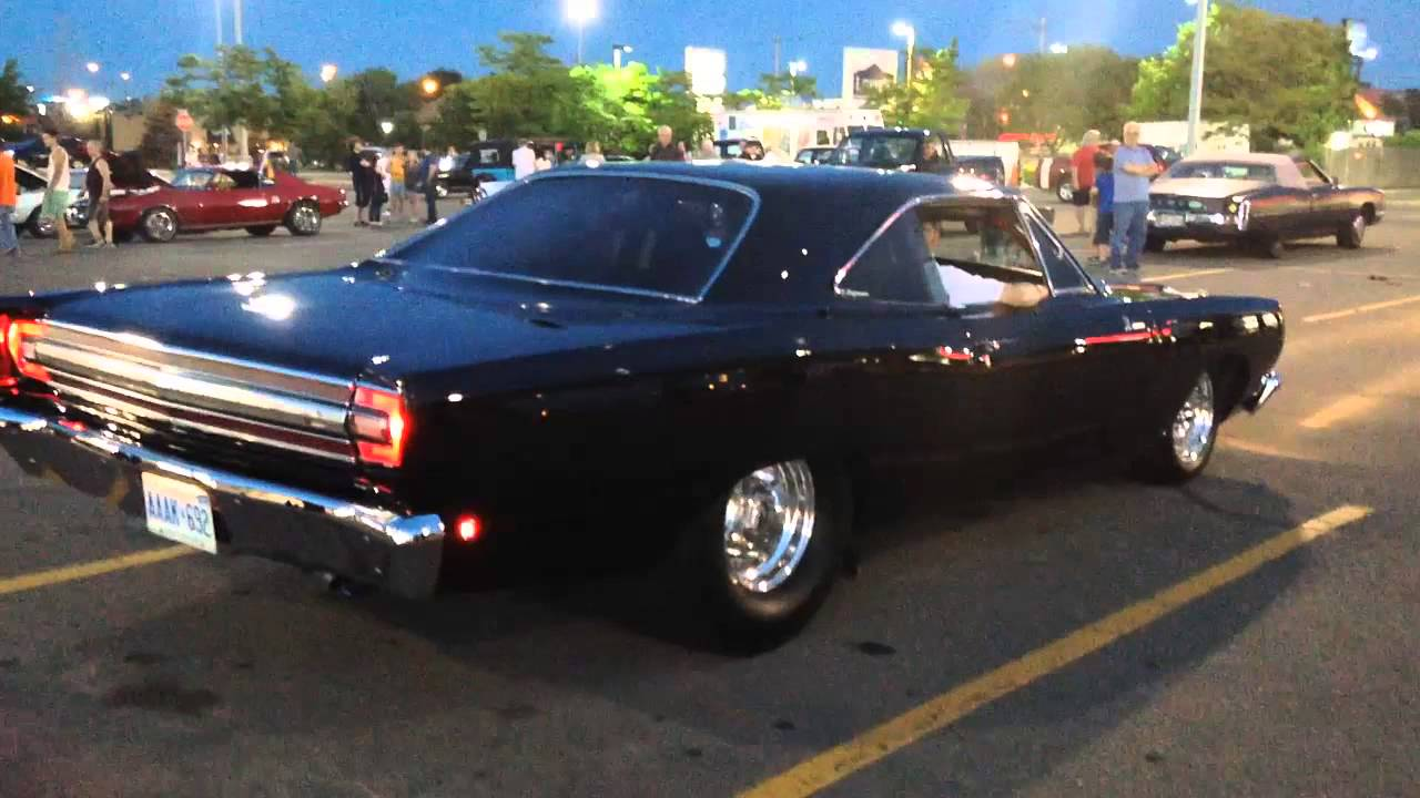 Image result for Bad 1968 Plymouth Road Runner With LOUD Exhaust!!