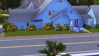 Sims 3: Blue Beach House