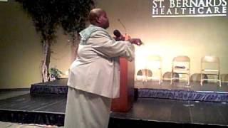 Apostle Delores Williams In Jonesboro Ar.mov