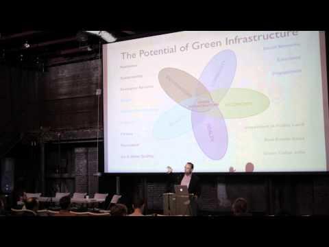 Adrian Benepe (The Trust for Public Land) at the Gowanus Design Summit 2014