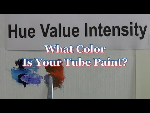 Quick Tip 182 - What Color Is Your Tube Paint?