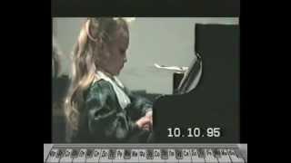 Обучение музыке Играет Олеся Белецкая 6 лет Беркович