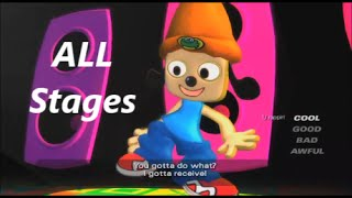 PaRappa The Rapper: 2 (PS4) ALL Singing Stages