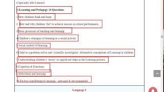 ctet syllabus 2020 paper 2 | CTET Syllabus 2020 | ctet 2020 syllabus