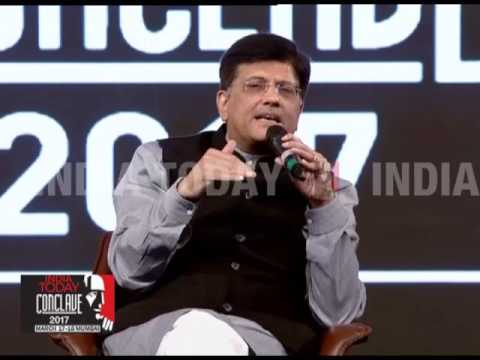 BJP's Piyush Goyal, Congress' Prithviraj Chavan On Future Of Politics | India Today Conclave 2017